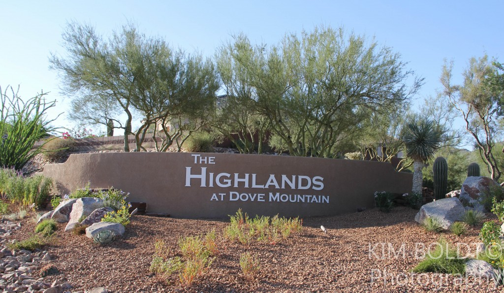 Highlands at Dove Mountain Subdivision